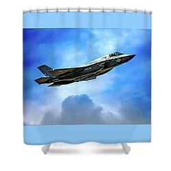Reach For The Skies Shower Curtain