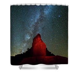 Shower Curtain featuring the photograph Reach For The Stars by Stephen Stookey