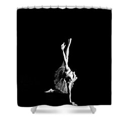 Reaching Ballerina Shower Curtain