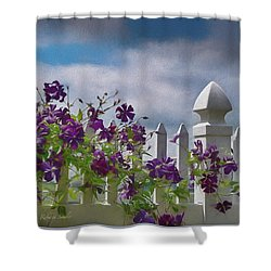 Reaching For The Sky Shower Curtain