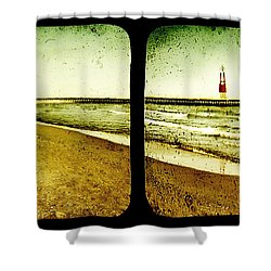 Reaching For Your Hand Shower Curtain