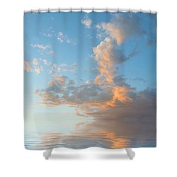 Reaching High Shower Curtain by Jerry McElroy