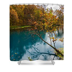 Reaching Out Shower Curtain