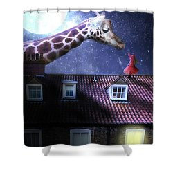 Reaching Out Shower Curtain by Nathan Wright