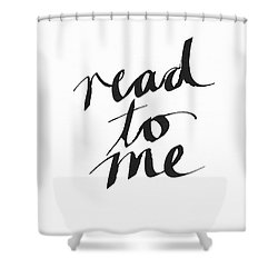 Read To Me- Art By Linda Woods Shower Curtain