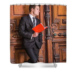 Reading And Thinking 150425 Shower Curtain