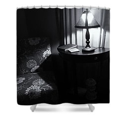 Reading Corner Shower Curtain