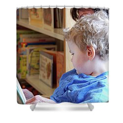 Reading Nurtures The Gardens Of The Mind Shower Curtain