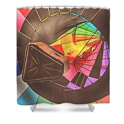 Readington Balloon Festival #1 2015 Shower Curtain