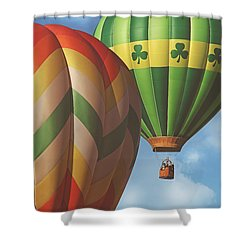 Readington Balloon Festival #2 2015 Shower Curtain