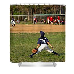 Ready Shower Curtain by Brian Wallace
