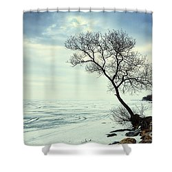 Ready For Awakening Shower Curtain