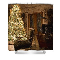 Ready For Christmas Shower Curtain