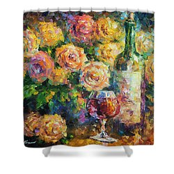 Ready For Her  Shower Curtain by Leonid Afremov
