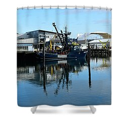Ready For Launch Shower Curtain