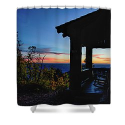 Ready For Sunset Shower Curtain