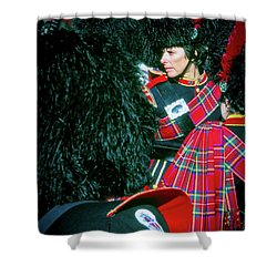 Shower Curtain featuring the photograph Ready For The Parade by Samuel M Purvis III