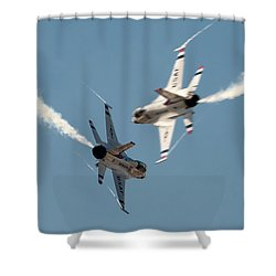 Ready Hit It Shower Curtain