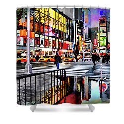 Shower Curtain featuring the photograph Ready Or Not by Diana Angstadt