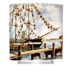 Ready The Celebration Shower Curtain