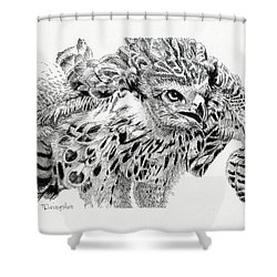 Ready To Fight Shower Curtain