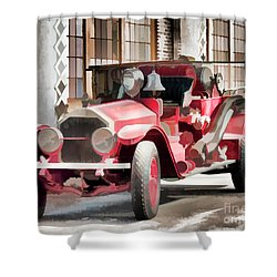 Shower Curtain featuring the photograph Ready To Serve Again by Wilma Birdwell