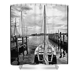 Ready To Set Sail Shower Curtain