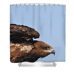 Ready To Take Off Shower Curtain