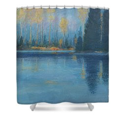 Real Canadian Wilderness Shower Curtain