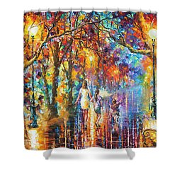 Real Dreams   Shower Curtain by Leonid Afremov