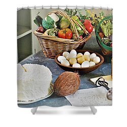 Real Food Shower Curtain