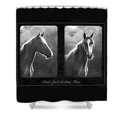 Real Good Looking Boy Shower Curtain by Hazy Apple