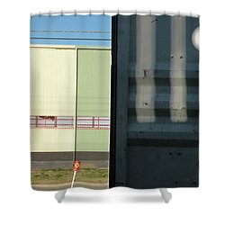 Real Time Shower Curtain