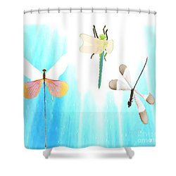 Realization Of Life Shower Curtain