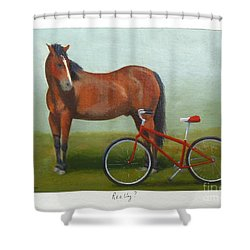 Really? Shower Curtain