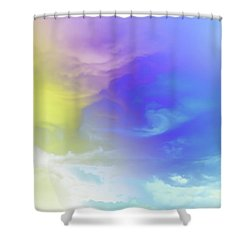 Realm Of Angels Shower Curtain