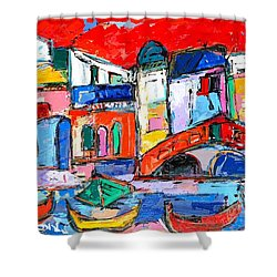 Rialto Venice Shower Curtain