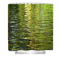 Shower Curtain featuring the photograph Reams Of Light by Lynda Lehmann