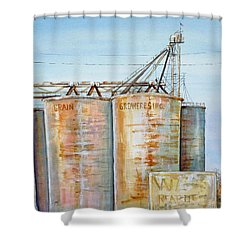 Rearden Grainery Shower Curtain