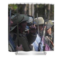 Rebel Bayonets Shower Curtain by David Lee Thompson