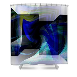 Transparency 2 Shower Curtain by Thibault Toussaint