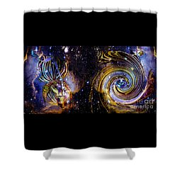 Rebirth And Eternity Shower Curtain