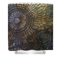 Shower Curtain featuring the painting Rebirth by Patricia Lintner