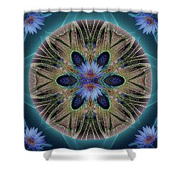 Rebirth Rising Shower Curtain