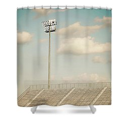 Shower Curtain featuring the photograph Recalling High School Memories by Trish Mistric