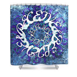 Receive And Believe Squared Shower Curtain