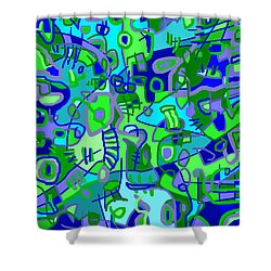 Recess Shower Curtain by Jeff Gater