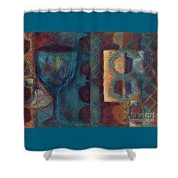 Reciprocation Shower Curtain