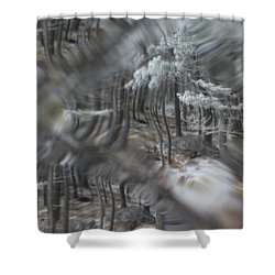 Recital For The Cold And The Eyes - Fourth Movement Shower Curtain