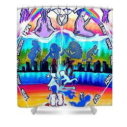 Recovery Works Shower Curtain
